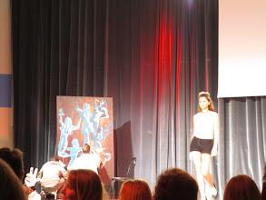 Photo: The fashion show