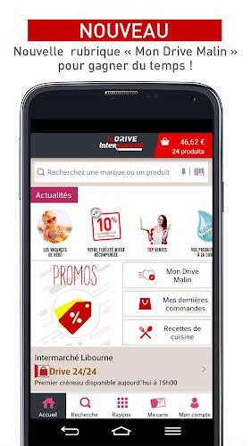 Drive Intermarché – Courses en drive ou livraison Android App Screenshot