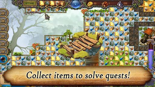 Runefall - Medieval Match 3 Adventure Quest android2mod screenshots 3
