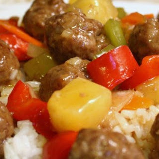 Lana's Sweet and Sour Meatballs.