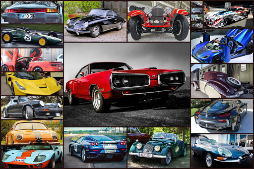 Sports Car Jigsaw Puzzles Game - Kids & Adults ud83cudfceufe0f apkpoly screenshots 1