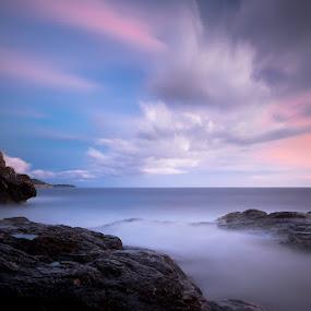 Gorica by Daniel Pavlinović - Landscapes Waterscapes ( sky, dubrovnik, sunset, croatia, sea, landscape )