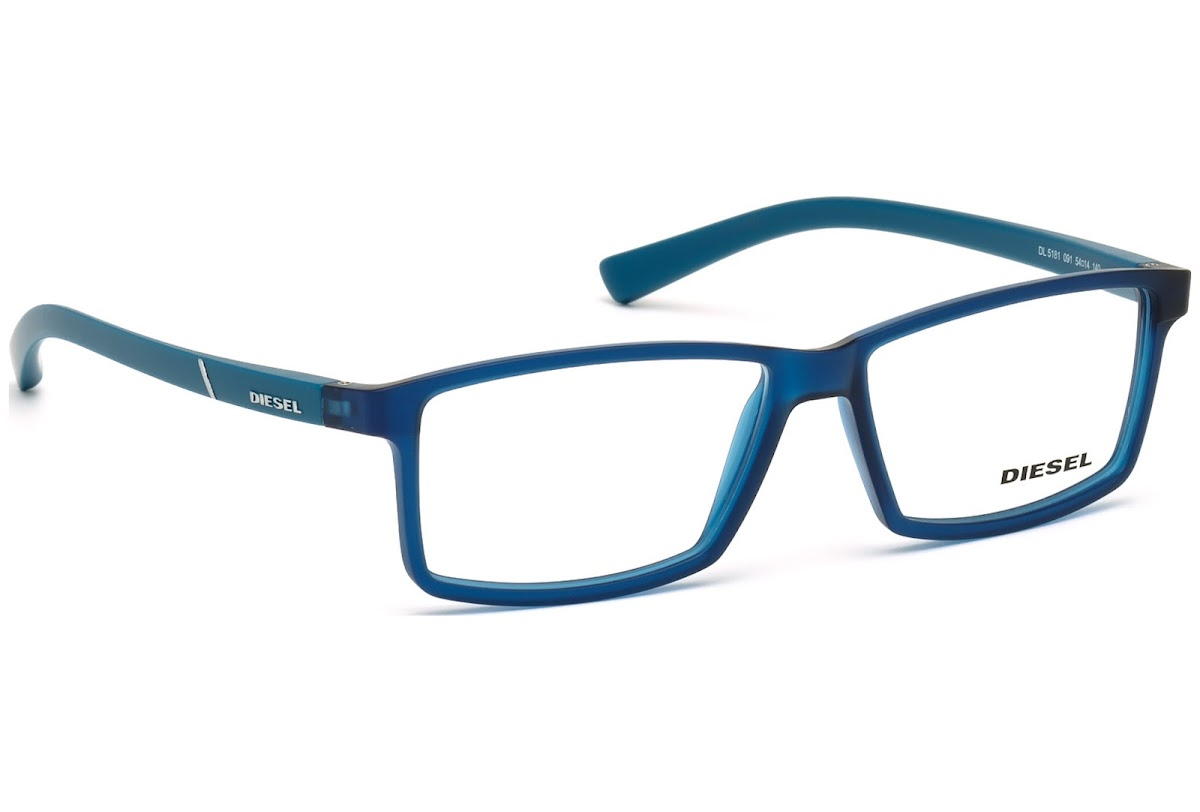 e669ac851f Buy Diesel DL5181 C54 091 (matte blue   ) Frames