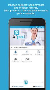 Patient Medical Records & Appointments for Doctors - náhled