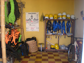 Photo: Eco Cartama's equipment closet