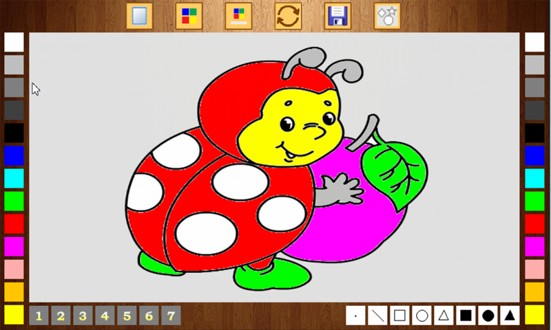 Draw and Coloring- screenshot