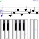 1 learn sight read music notes - piano sheet tutor Icon