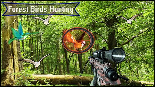 Télécharger Forêt 3D - Chasse aux oiseaux - Tireur d'élite APK MOD (Astuce) screenshots 3