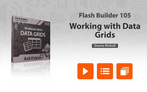 Data Grid Course For Flash