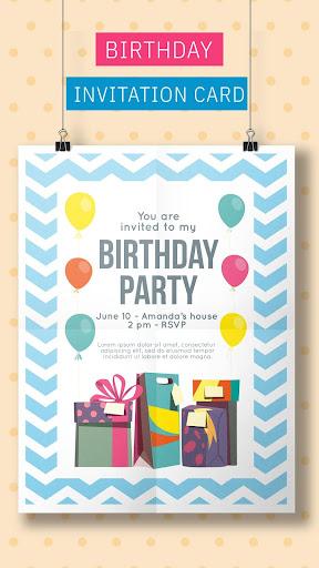 Birthday Invitation Maker Invitation Card Maker Download Apk Free For Android Apktume Com
