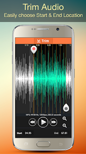 Audio MP3 Cutter Mix Converter and Ringtone Maker 3