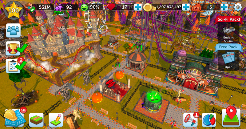 RollerCoaster Tycoon Touch Screenshot 15