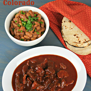 Chile Colorado With Beans Recipes