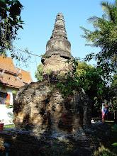 Photo: Crumbling Stupa