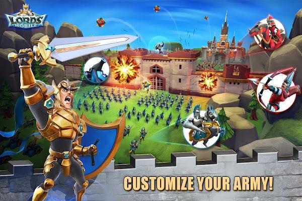 Lords Mobile - screenshot