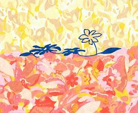 """Photo: Тадеуш Жаховский """"Цветы Росы. Flowers Of Dew"""", Title: Flowers Of Dew / Цветы Росы Artist:Tadeush Zhakhovskyy / Тадеуш Жаховский Medium: Painting. mixed techique on cardboard, смешанная техника, дизайнерский картон. 50 cm x 61 cm x / 20 in x 24 in. О наличии картины просьба контактировать галерею. Также предлагается напечатанная на холсте репродукция этой картины в любом размере."""