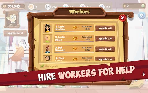Mining Simulator - Idle Clicker Tycoon apktram screenshots 2
