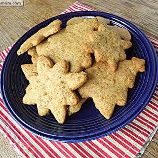 Whole Wheat Refined Sugar Free Sugar Cookies.
