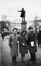 Photo: Leningrad 1964 Jole Stanisic, ?????, Stevo Drinjak,