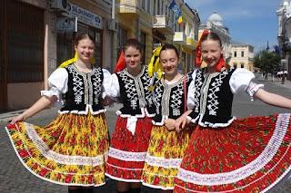 2015 Rumunsko Dorohoi Medzinárodný folklórny festival