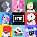 Cute BT21 Wallpapers HD Offline icon