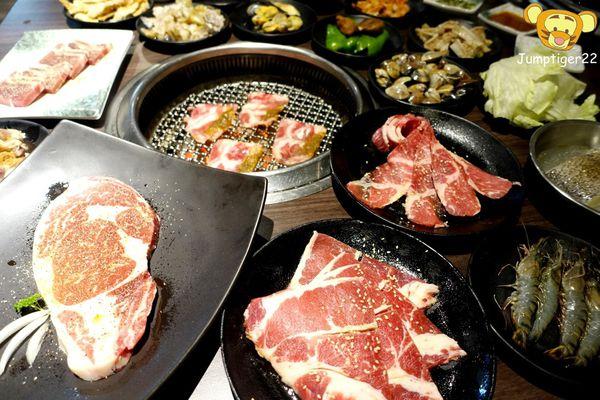 肉食者天堂,吃到飽中還有超嫩美國和牛肋眼-澤野燒肉屋