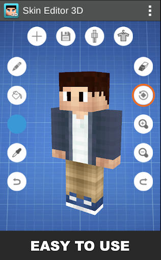 Skin Editor 3D for Minecraft 1.7 Apk for Android 15