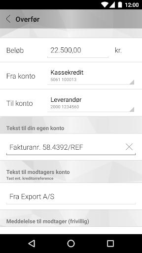 Mobilbank Erhverv screenshot 3