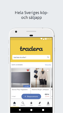 Tradera 3.2.2 screenshot 2089300