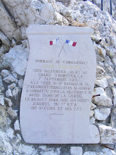Photo: There was fierce fighting for the liberation of Marseille in WW II, and remembrances of the fallen are to be found.