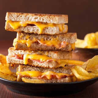 Bacon and Cheese Sandwich
