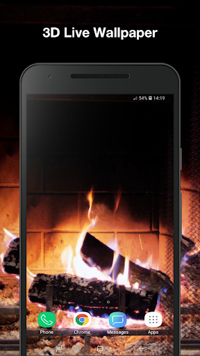 Brilliant Download 3D Fireplace Live Wallpaper On Pc Mac With Download Free Architecture Designs Lukepmadebymaigaardcom