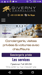 Concierge Giverny Consulting Capture d'écran
