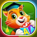 IK: preschool learning & educational kindergarten icon
