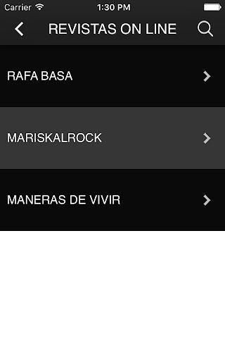 android EL CLUB DEL ROCK Screenshot 1