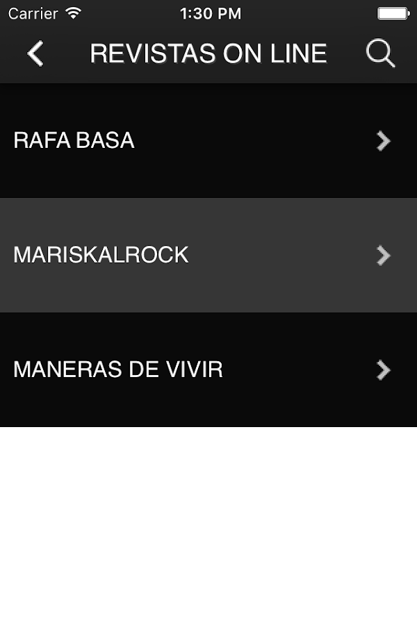 EL CLUB DEL ROCK: captura de pantalla
