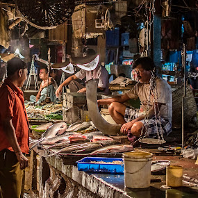 Conversation by Shibasish Saha - City,  Street & Park  Markets & Shops ( shop, market, hdr, street, , city, night )