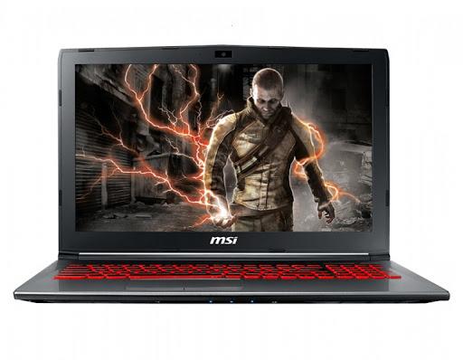 Máy tính xách tay/ Laptop MSI GV62 7RE-2443XVN (I7-7700HQ)