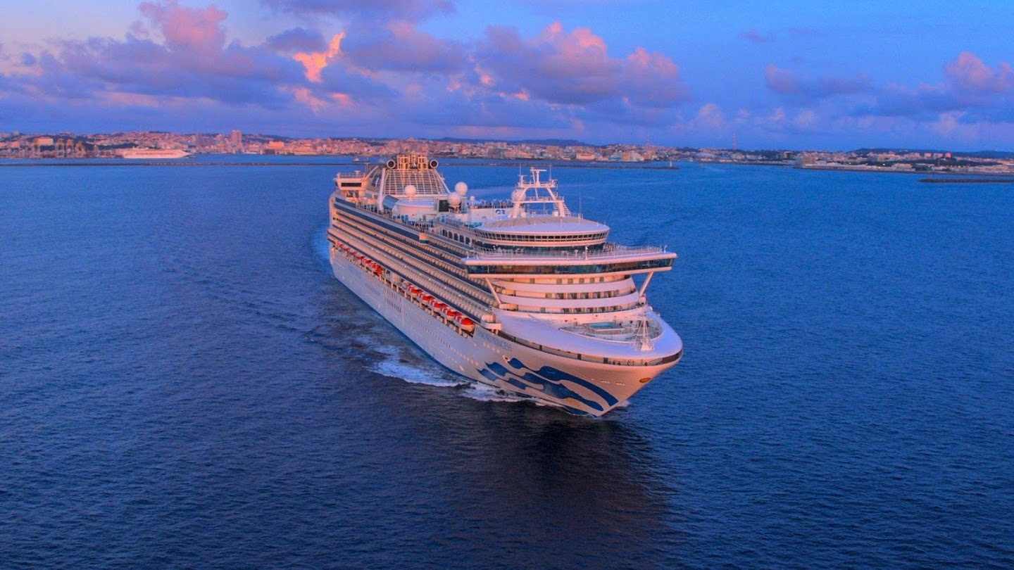 Watch Mighty Cruise Ships live
