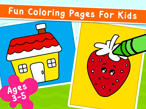 Coloring Games for Kids - Drawing & Color Book  screenshots 9