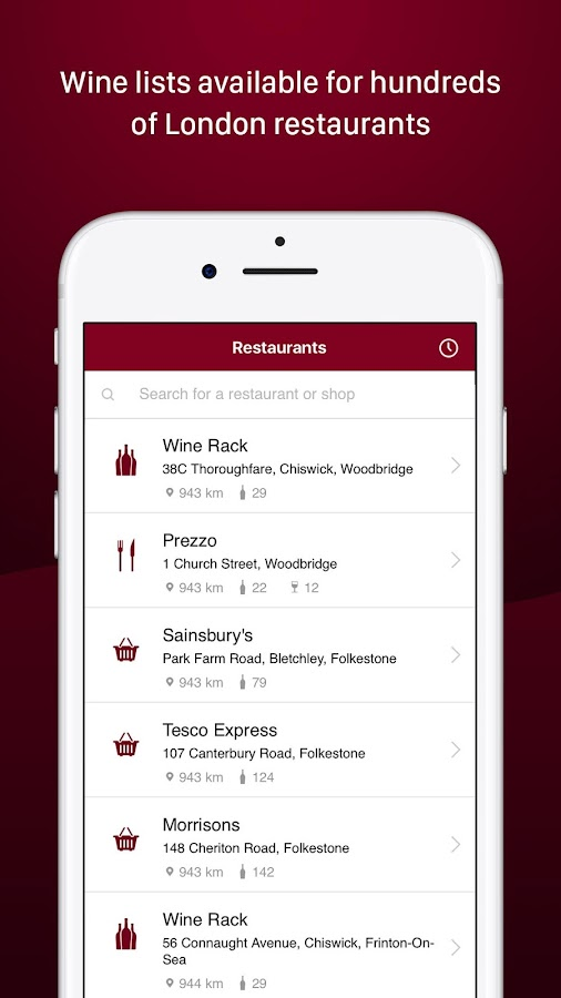 Corkscrew: Food & Wine Pairing- screenshot
