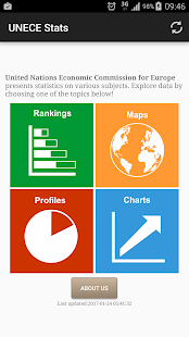 UNECE Stats- screenshot thumbnail