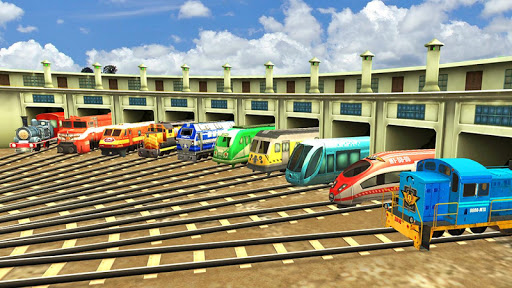 Train Simulator - Free Games  screenshots 16