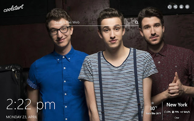AJR HD Wallpapers Indie Pop New Tab Theme