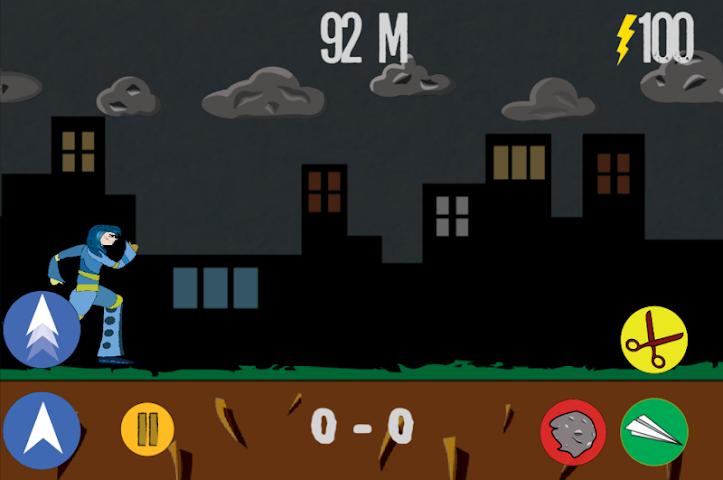 android Rock Paper Scissor! RUN! Screenshot 8