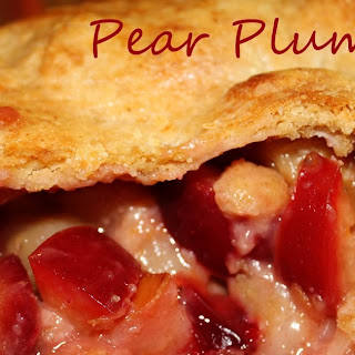 Pear Plum Pie Recipe