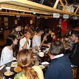 dinner at Sumire in Tokyo, Tokyo, Japan