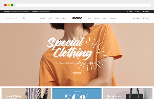 fashion opencart theme Mooboo