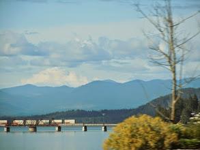 Photo: Little train bridge getting into Sandpoint