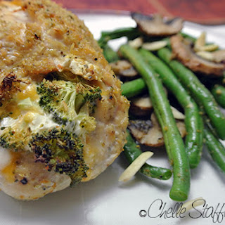 Broccoli & Cheese Stuffed Chicken